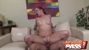 Big Butt Hot First timer Dahlia Sky Gets Nailed Hard