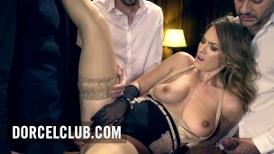 Pornochic – Hot Foursome For the beautiful Claire Castel, French star