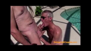 Watch my daddy suck some DICK