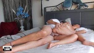 Can amateur Asian MILF Marie takes Maestro's big cock in her pussy?